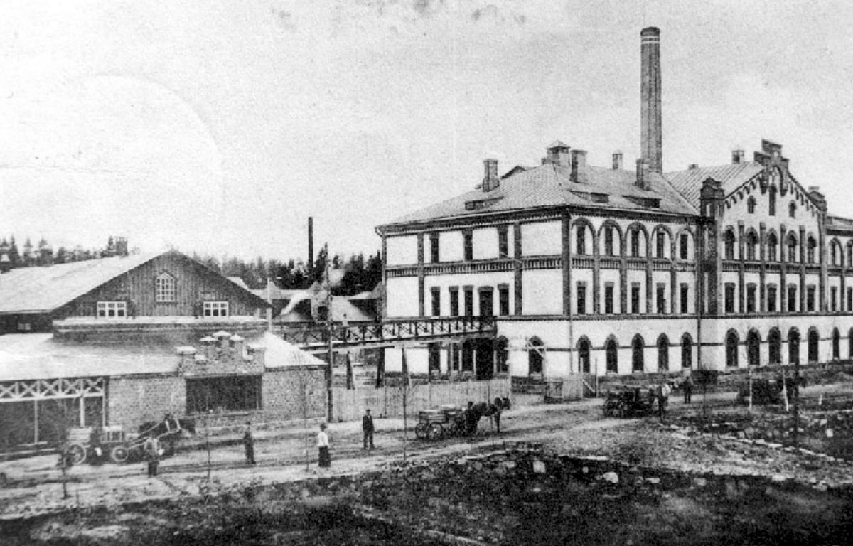 Rakkolanjoki tile factory 1902